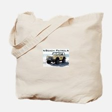 Beach Patrol Bronco Tote Bag