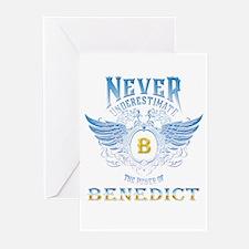 benedict Greeting Cards