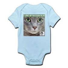 Russian Blue Cat Infant Creeper