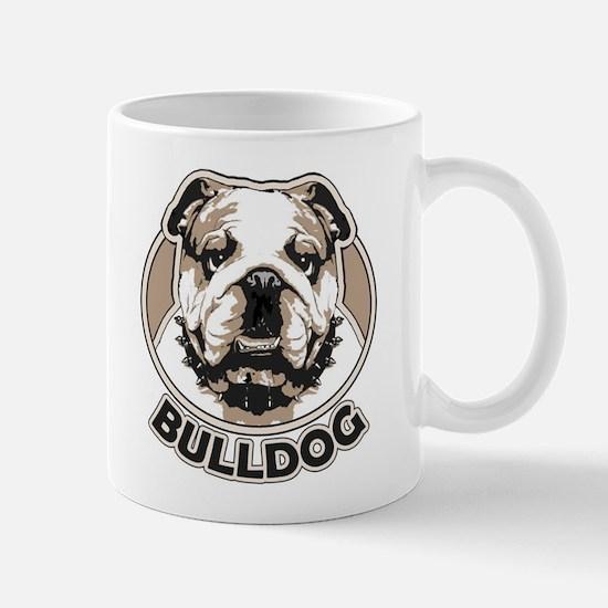 Eng. Bulldog Face Mug