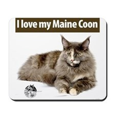 Maine Coon Cat Mousepad