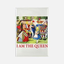 I AM THE QUEEN Rectangle Magnet