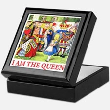 I AM THE QUEEN Keepsake Box