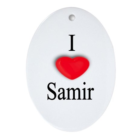 Samir Oval Ornament
