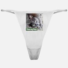 Grey Cat Classic Thong
