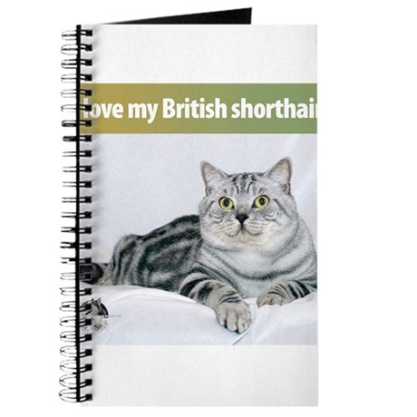 British Shorthair Cat Journal