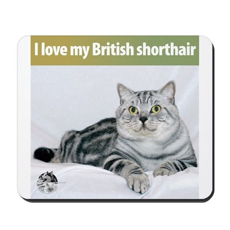 British Shorthair Cat Mousepad