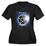 Pagan Women's Plus Size V-Neck Dark T-Shirt