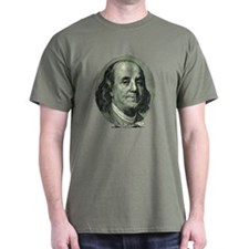 Ben Franklin Hundred Dollar Bill T-Shirt