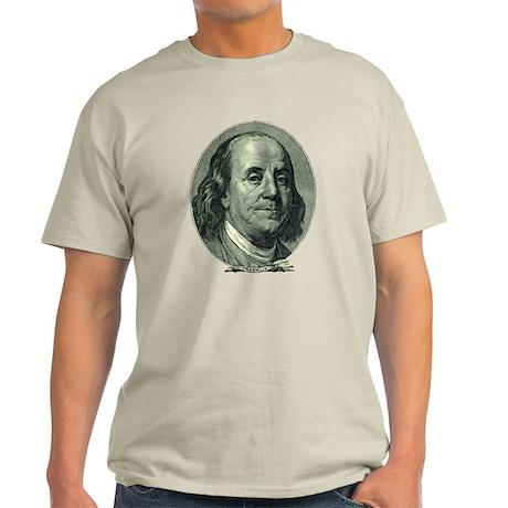 Ben Franklin Hundred Dollar Bill Light T-Shirt