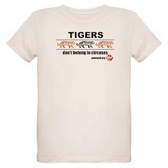 Tigers Don't Belong in Belong in Circuses T-Shirt