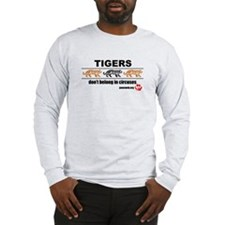 Tigers Don't Belong in Circuses Long Sleeve T-Shir