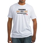Tigers Don't Belong in Circuses Fitted T-Shirt