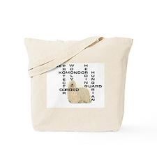 Komondor crossword Tote Bag