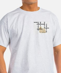 Komondor crossword Ash Grey T-Shirt