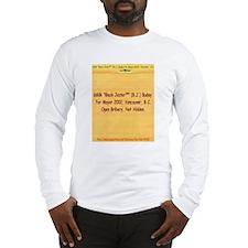 Buday for Mayor Long Sleeve T-Shirt