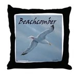 Beachcomber Seagull Throw Pillow