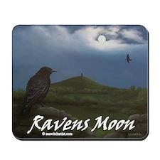 Ravens Moon Mousepad
