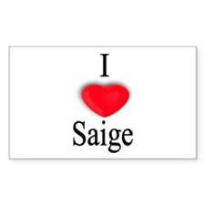 Saige Rectangle Decal