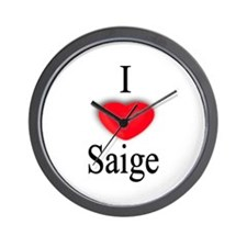 Saige Wall Clock