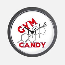 GYM CANDY Wall Clock