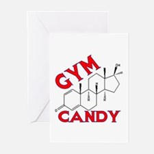 GYM CANDY Greeting Cards (Pk of 10)