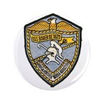 "USS BAUER 3.5"" Button"