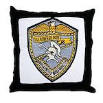 USS BAUER Throw Pillow