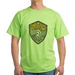 USS BAUER Green T-Shirt