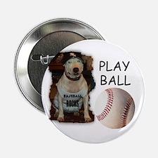 BASEBALL ROCKS (PIT BULL) Button