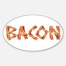 BACON Oval Sticker (10 pk)