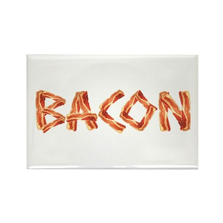 BACON Rectangle Magnet (100 pack)