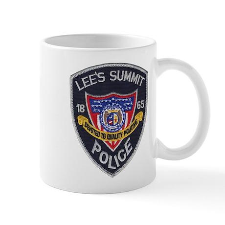 Lee's Summit Missouri Police Mug