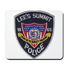 Lee's Summit Missouri Police Mousepad