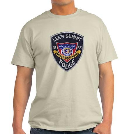 Lee's Summit Missouri Police Light T-Shirt