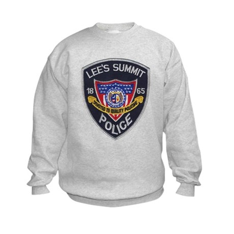 Lee's Summit Missouri Police Kids Sweatshirt