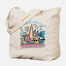 Fun San Francisco Tote Bag