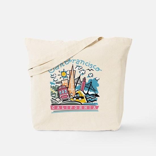 Fun San Francisco Tote Bag