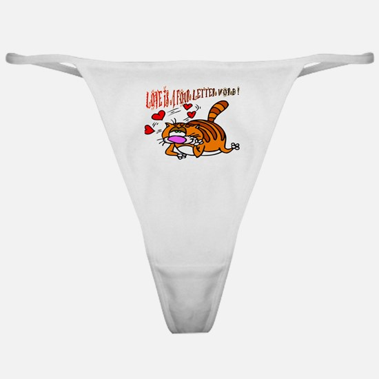 Kitty Club Classic Thong