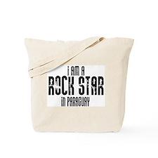 Rock Star In Paraguay Tote Bag