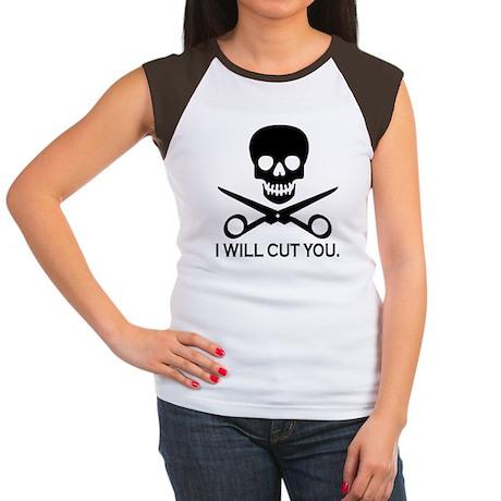 Beauty Shop Pirate Women's Cap Sleeve T-Shirt