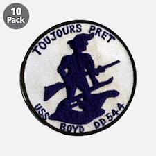 """USS BOYD 3.5"""" Button (10 pack)"""