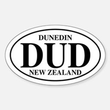 DUD Dunedin Oval Decal
