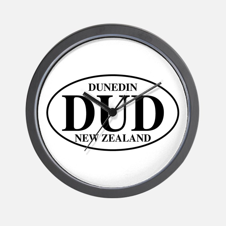 DUD Dunedin Wall Clock