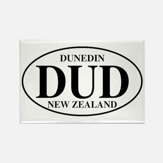 DUD Dunedin Rectangle Magnet