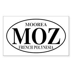 MOZ Moorea Rectangle Decal