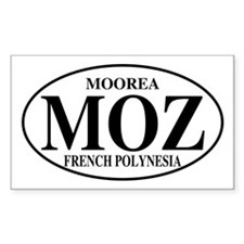 MOZ Moorea Rectangle Decal