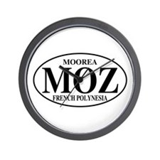 MOZ Moorea Wall Clock
