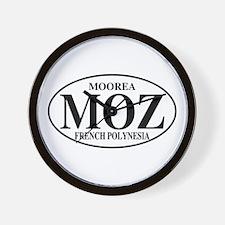 MOZ Moorea Wall Clock