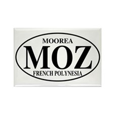MOZ Moorea Rectangle Magnet